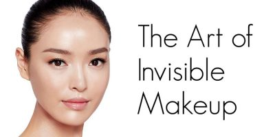 Homepage invisible make-up