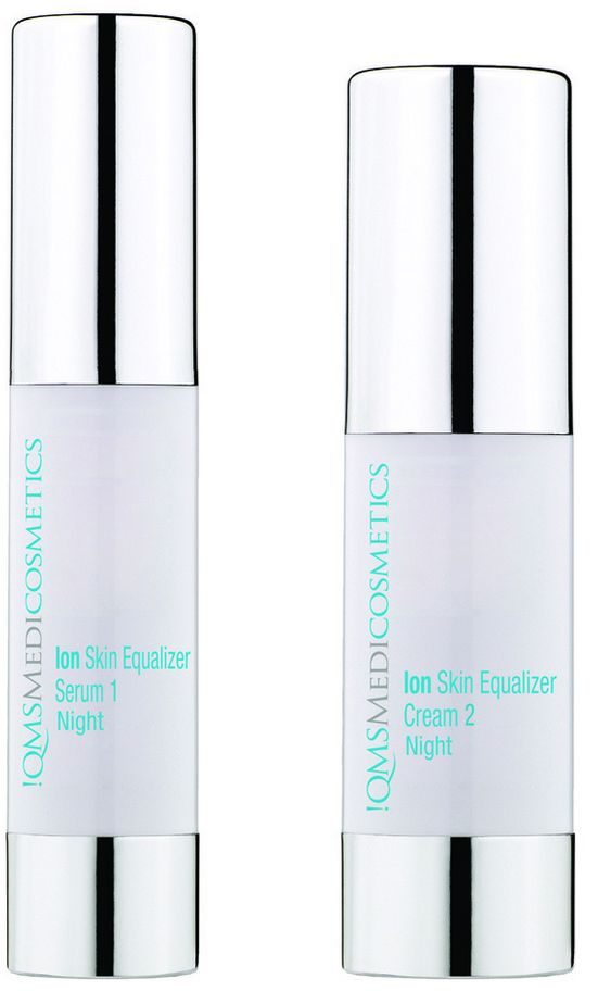 QMS Ion skin equalizer serum and cream