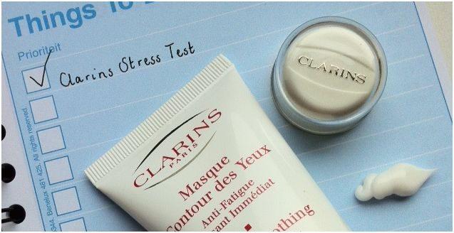 clarins eye mask