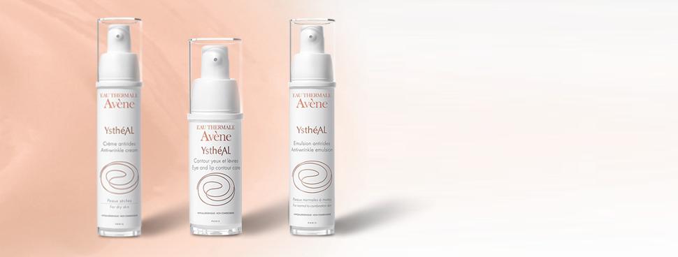 Gerti test Avène Ystheal creme, eye + lipcare